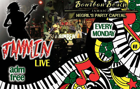 Jammin Live @ New Bourbon Beach Every Monday Night