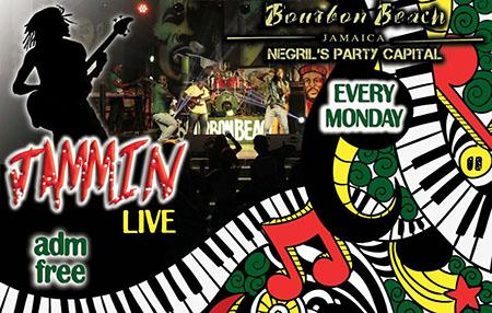 Jammin Live @ New Bourbon Beach Every Monday Night