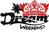 Smirnoff Dream Weekend Logo.  Follow this Link to the Smirnoff Dream Weekend - Jamaica Dream Weekend Web Site.
