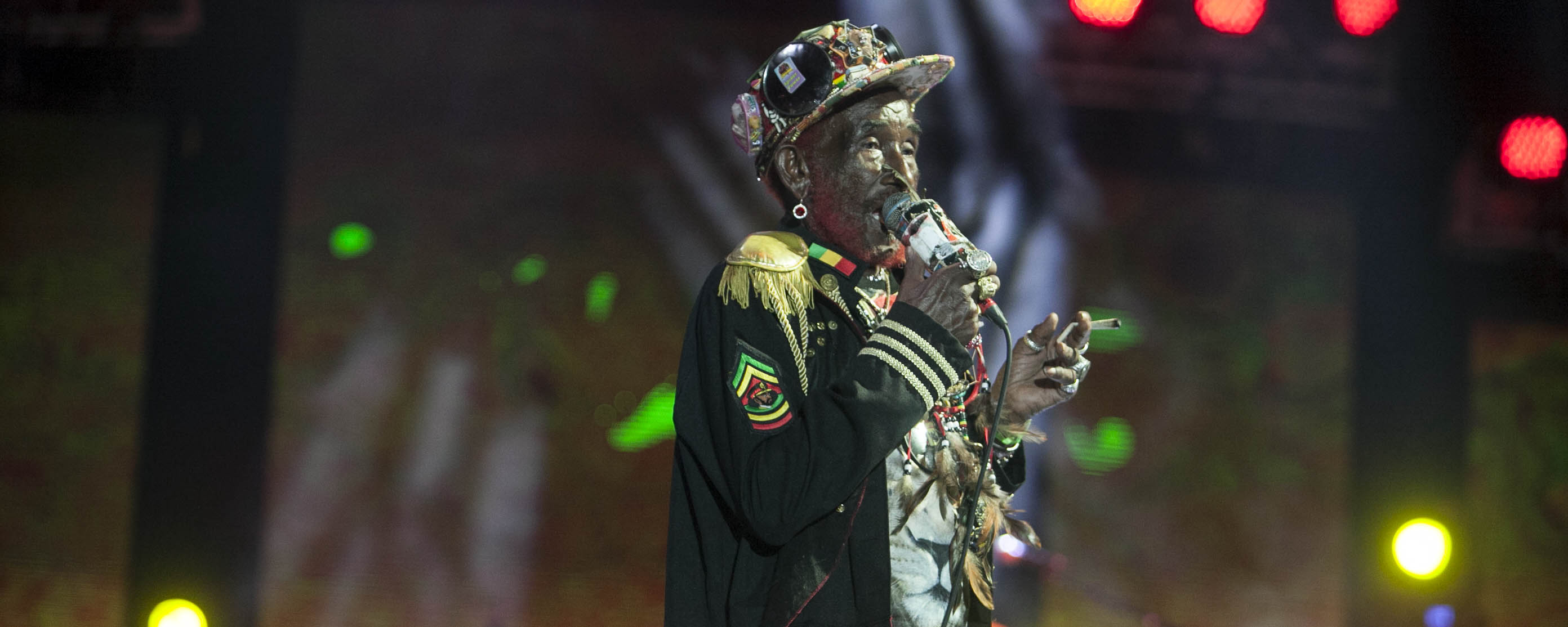Lee Scratch Perry @ High Vibes 2016 - Negril Jamaica