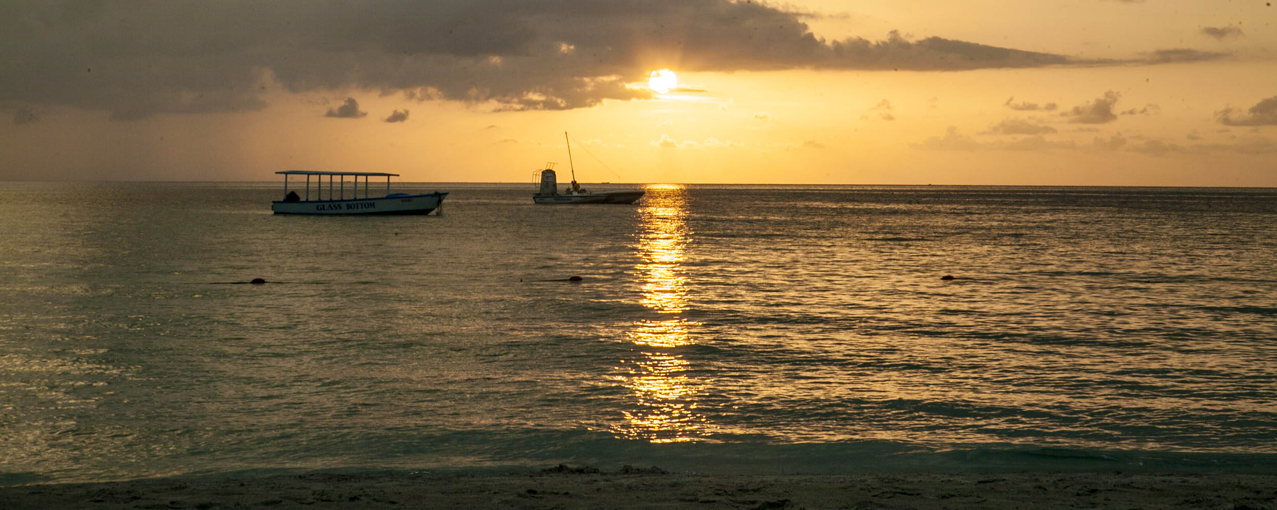 Caribbean Sunset @ Negril Beach, Negril Jamaica