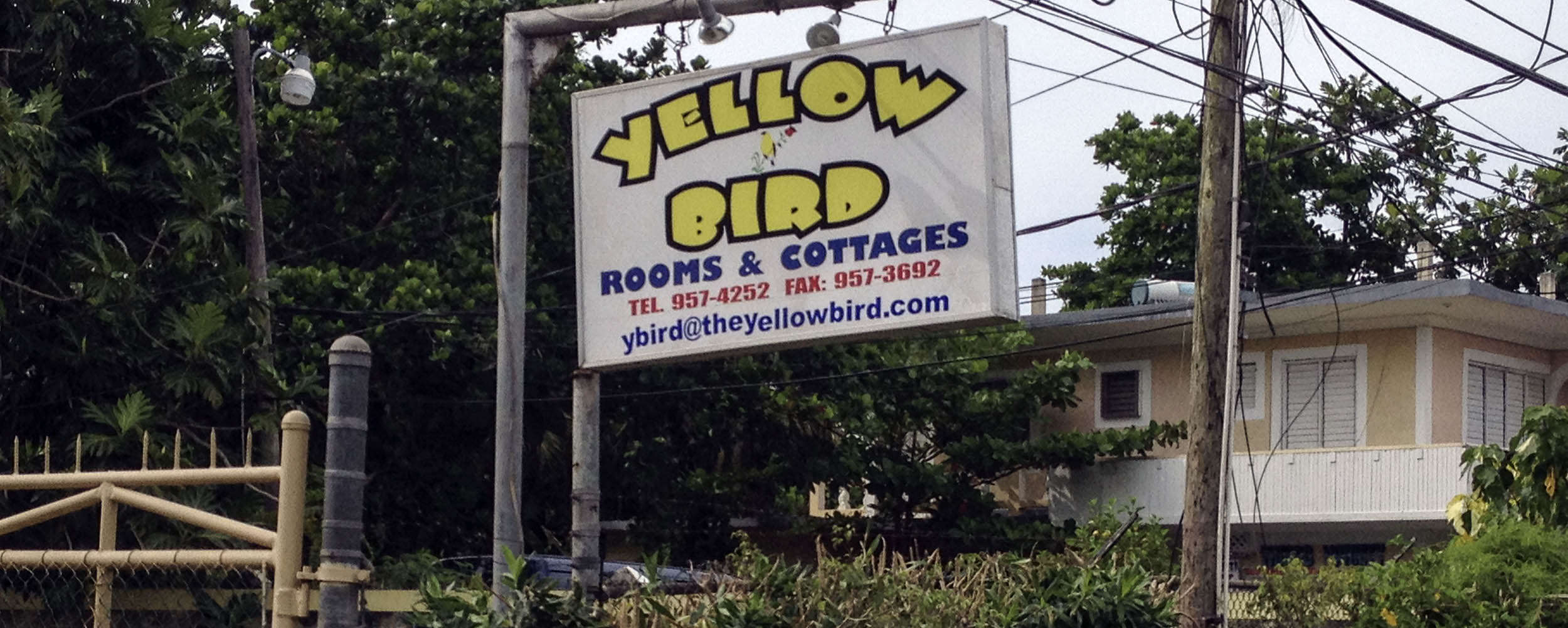 Yellow Bird Rooms and Cottages - Negril Jamaica